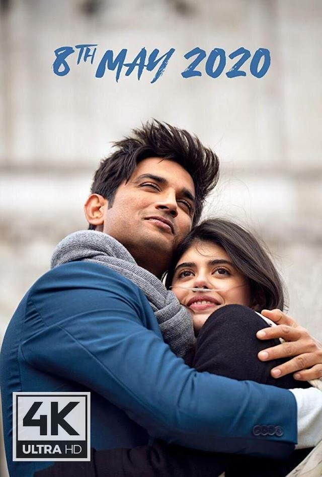 Dil Bechara (2020) Hindi Movie Download In HD - [MOVIE4U]