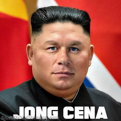 John Cena and Kim Jong-un
