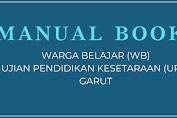 Manual Book Warga Belajar Ujian Pendidikan Kesetaraan (UPK)