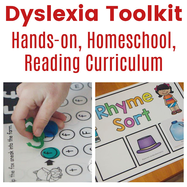 Dyslexia Curriculum for Homeschool