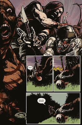 Karras vuelve con el cómic Sangre Bárbara.