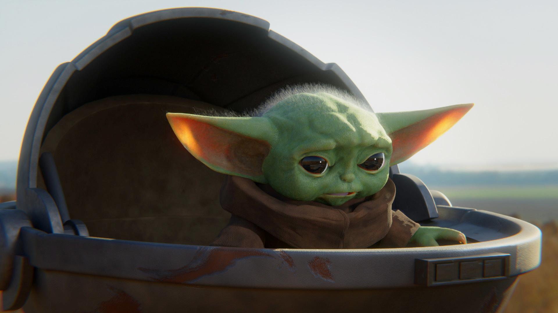Star Wars Baby Yoda Wallpaper