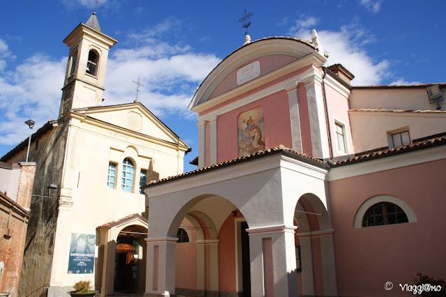 La Chiesa di San Donato vicino al Castello di Barolo