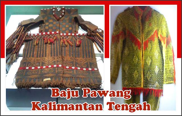 Gambar Baju Pawang Kalimantan Tengah