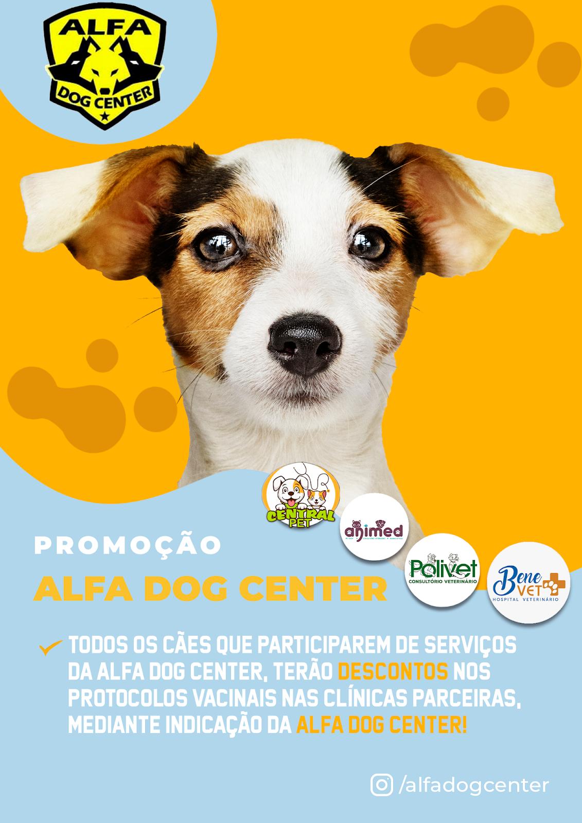 Alfa Dog Center lança campanha VacinaCÃO!
