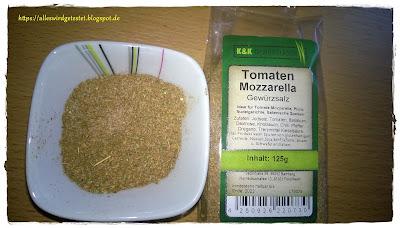 Tomaten Mozzarella Gewürzsalz