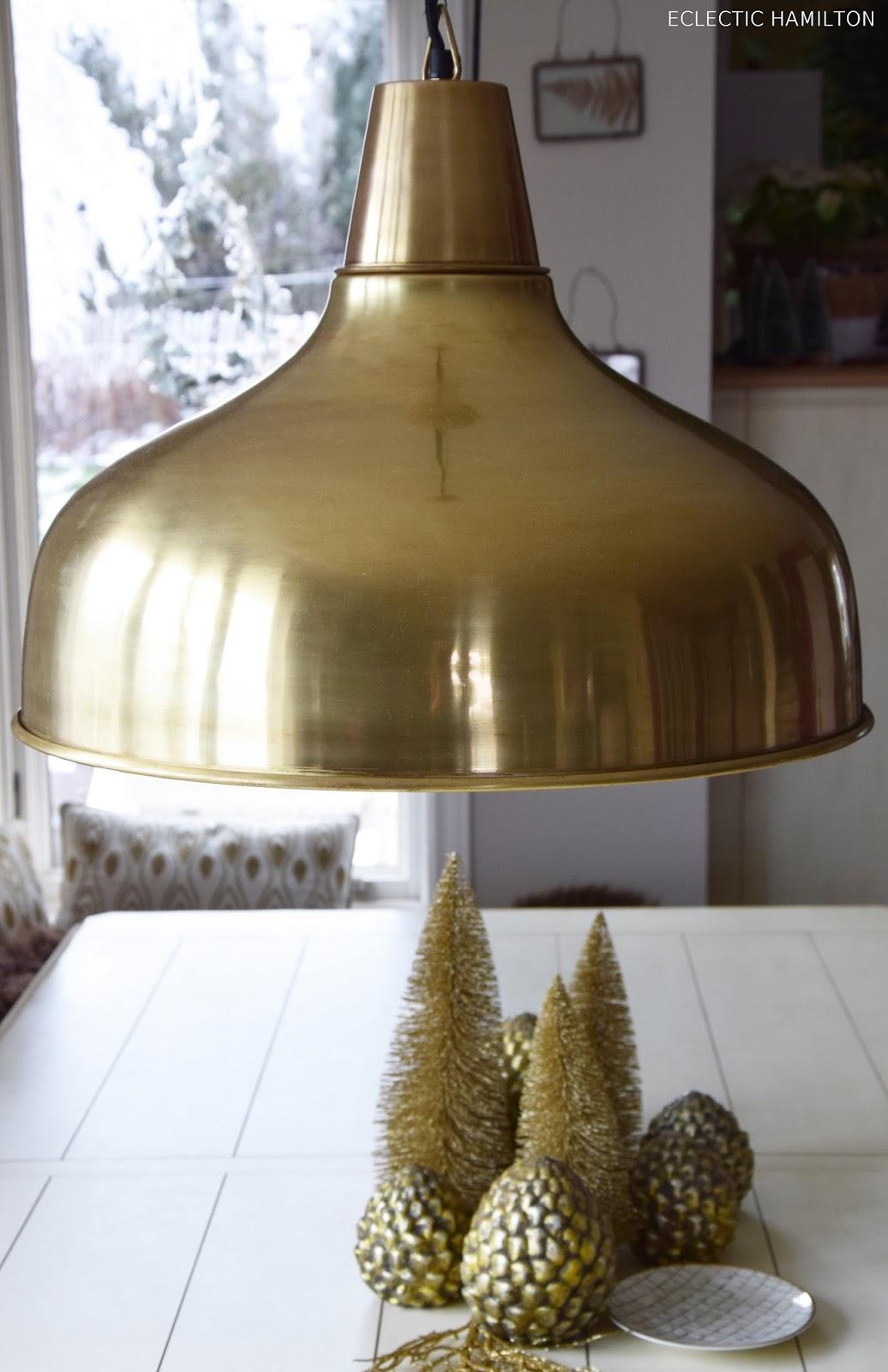 Die perfekte Lampe für das Esszimmer und tolle Weihnachtsdeko in Gold.Tipps zum Leuchtmittelkauf / lampenkauf: LED Lampen Leuchten esszimmer tisch deko dekoration gold kupfer