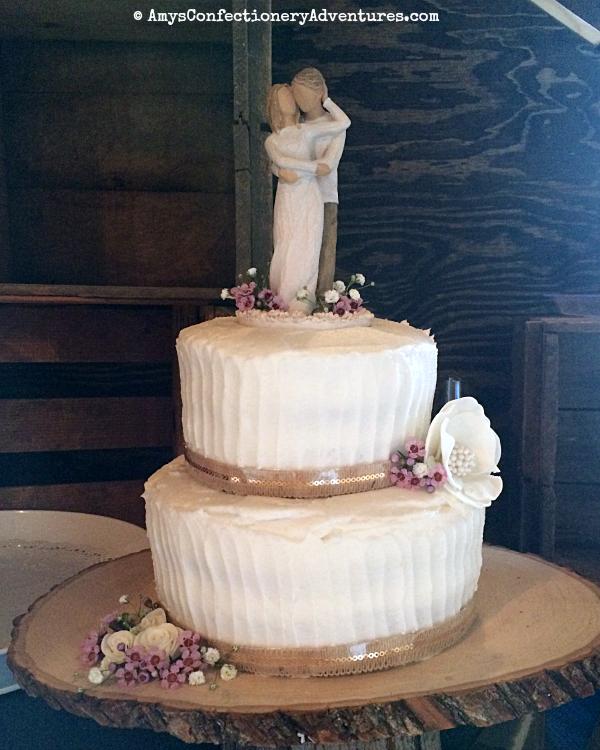 Rustic Wedding Cake: Amy's Confectionery Adventures: Rustic Wedding Cake
