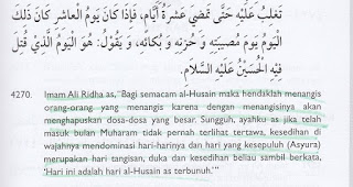 Aqidah Syiah: Mengangis di Hari Kematian Husain akan Menghapus Dosa-dosa Besar