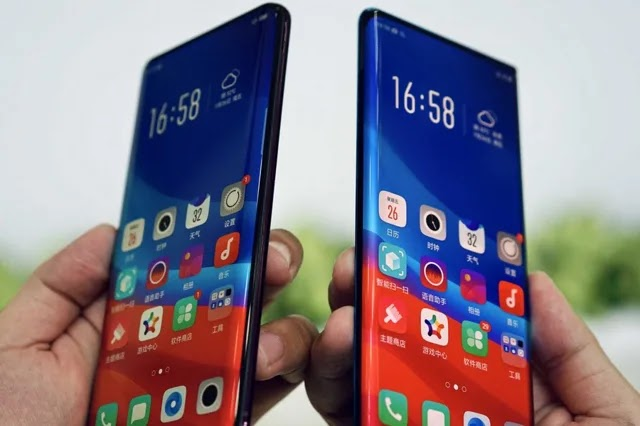 Oppo Finally Unveils 'Waterfall Screen' With Sharply Curved Edges, Less Bezels