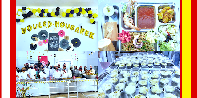المطعم الجامعي برجيش يحتفل بالمولد النبوي ويقدم أكلة خاصة للطلبة