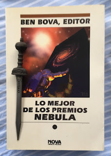 Portada del libro Lo mejor de los premios Nebula, de varios autores