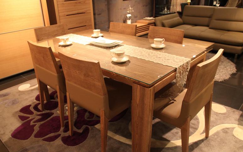 meja makan kayu jati mewah - gambar model meja makan kayu jati minimalis