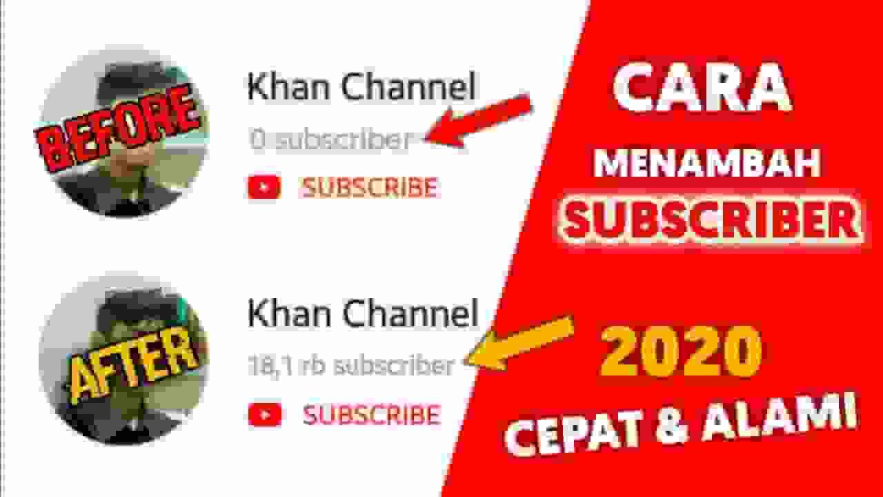 Cara Mendapatkan Banyak Subscriber Di Youtube