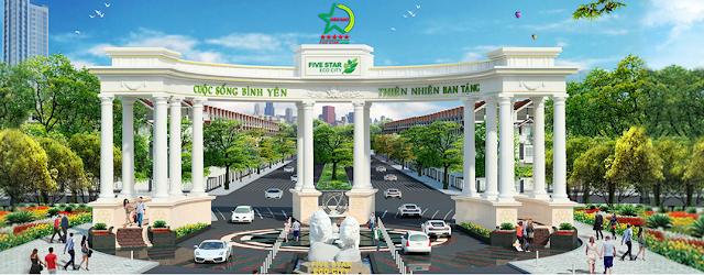 Đất nền dự án khu đô thị thành phố sinh thái 5 sao (Five Star Eco City), sổ đỏ từng nền, từ 100m2.