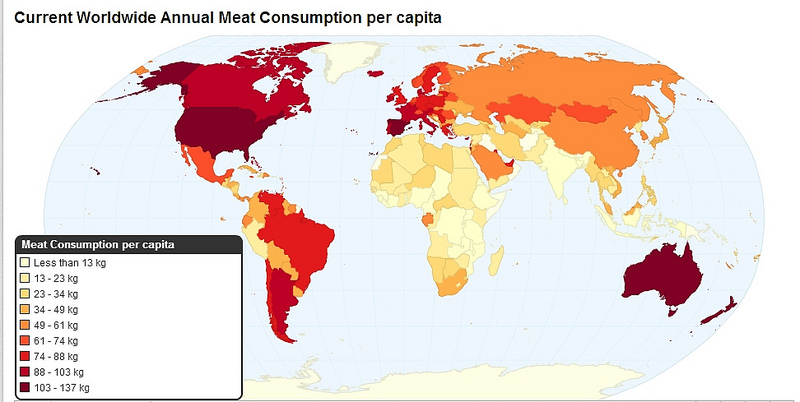 Haq's Musings: Pakistan Among Top Meat Consuming Nations