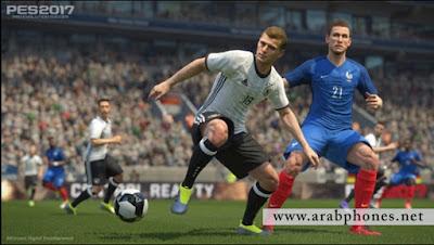 تحميل وتثبيت النسخة الاخيرة من لعبة كرة القدم PES 2017 ISO على أندرويد