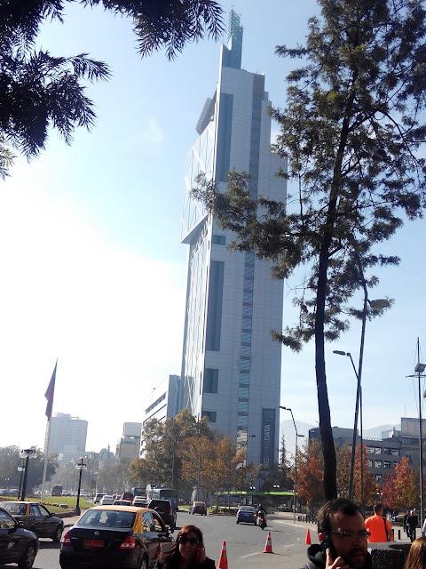 Edificio Movistar, Santiago, Chile