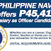 Phil. Navy hires college and high school graduates