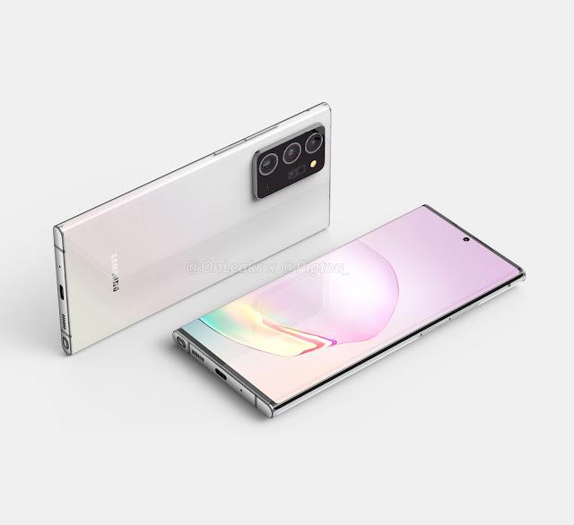 شاشة Samsung Galaxy Note 20 Plus