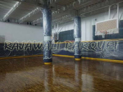 [ Project ] Pemasangan lantai kayu di sarana olahraga kota Surabaya