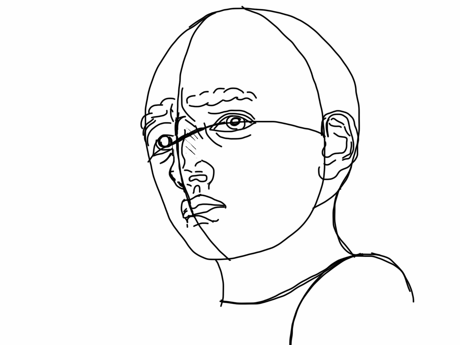 The Helpful Art Teacher: Drawing and shading faces:Learn