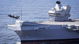 Kapal Induk Inggris HMS Elizabeth II