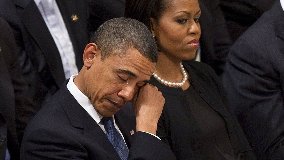 Today Our Family Lost a True Friend - Former President Barack Obama Says Goodbye to Another Relative (Pictures)