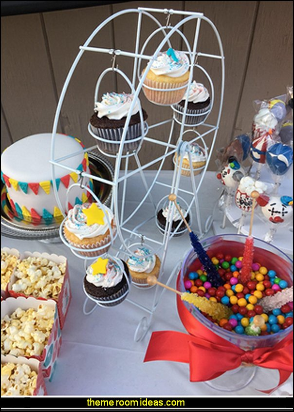 circus decor  circus themed party decorations - carnival circus theme party decorations - circus carnival themed birthday party - Ice Cream theme decor -  circus party supplies - Circus Party Props - circus costumes