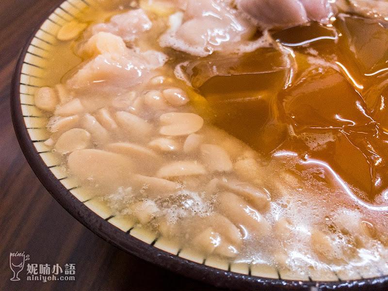 【寧夏夜市美食】豆花莊。午夜十二點還熱賣排隊的豆花店