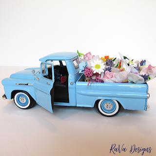 rava deisgns spring decor decorating ideas flowers trucks