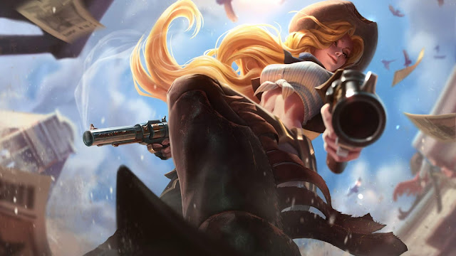 Papel de parede grátis Miss Fortune League of Legends para PC, Notebook, iPhone, Android e Tablet.