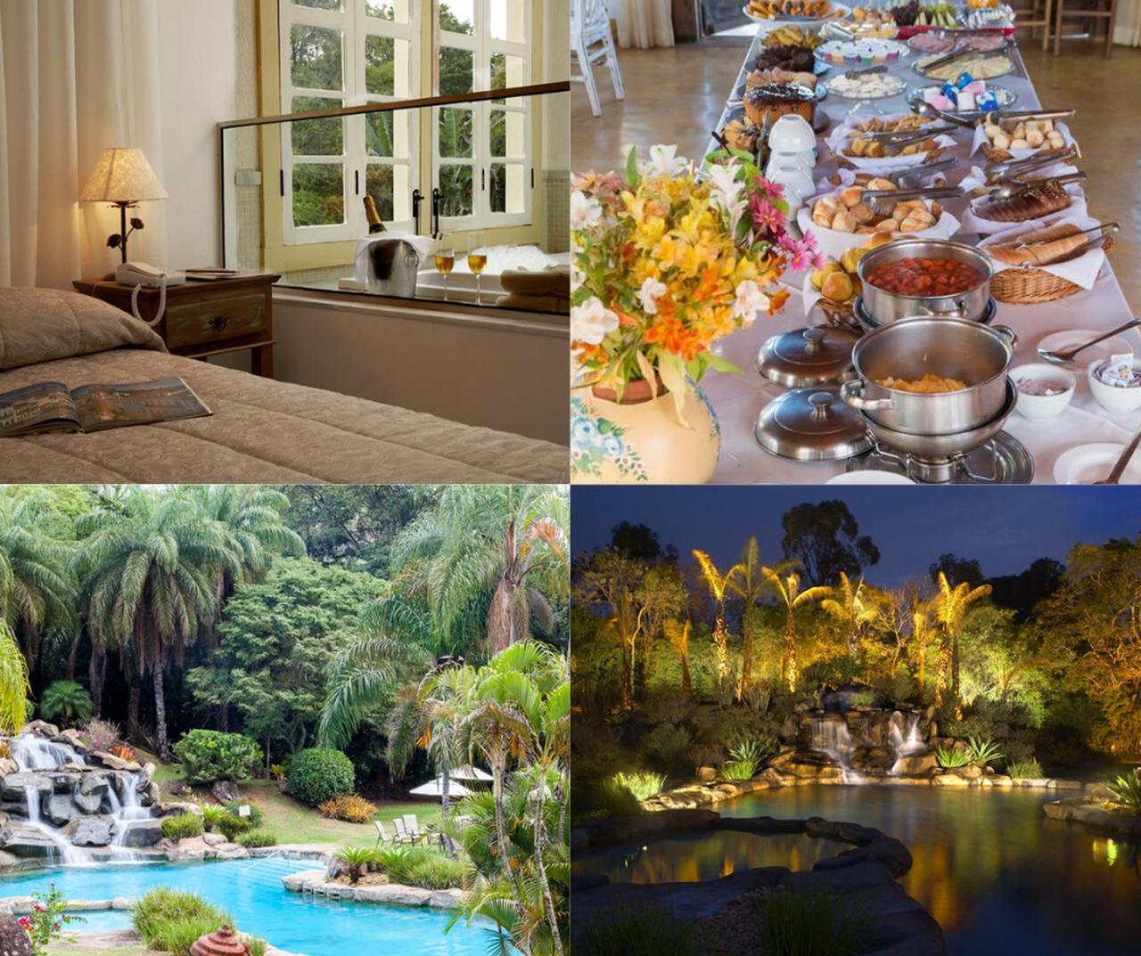 Ville Real Hotel em  Santo Antônio do Leite – Hospedagem de clima romântico perto de Belo Horizonte