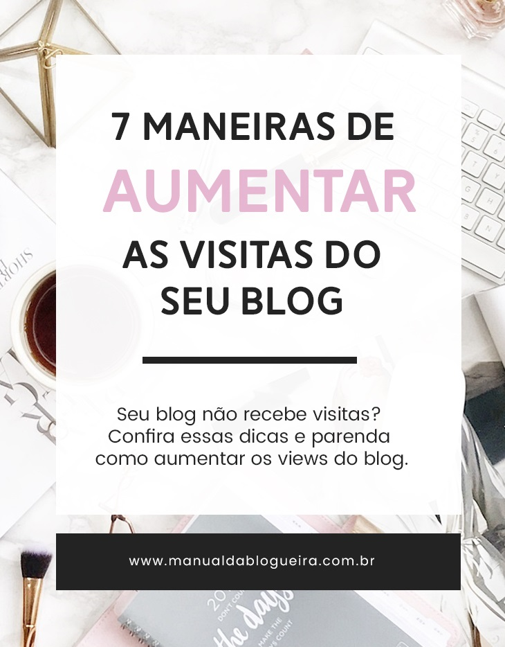 aumentar as visitas do blog