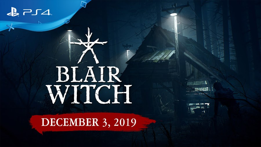 blair witch ps4 first-person psychological horror bloober team lionsgate games december 3 2019