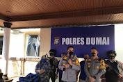 Polres Dumai Ringkus Jaringan Narkoba Internasional