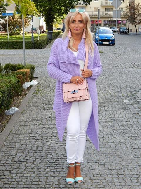 Trend kolor czyli pastelowy fiolet