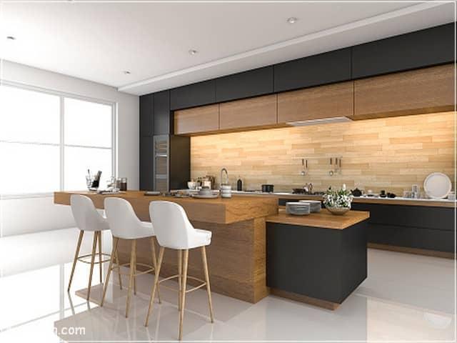 مطابخ خشب 19 | Wood kitchens 19