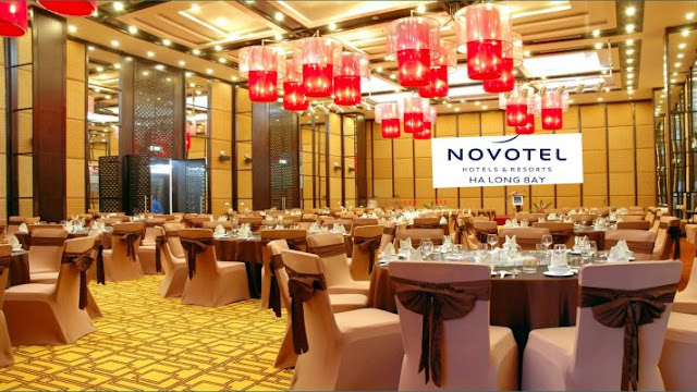 Địa điểm tổ chức sự kiện khách sạn Novotel Ha Long