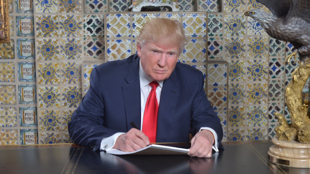 Trump's official statement about Steve Bannon