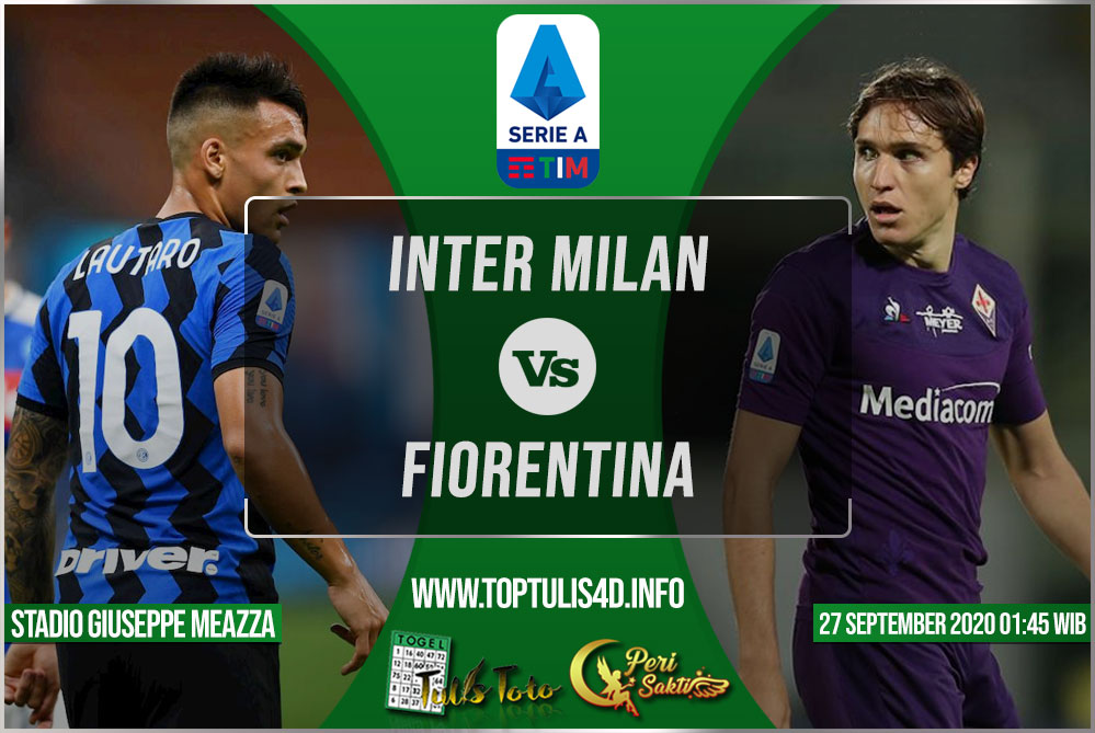 Prediksi Inter Milan vs Fiorentina 26 September 2020