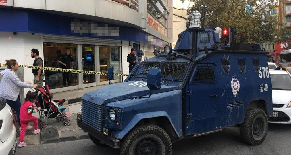 Sarıgazi'de banka soygunu: 20 bin lirayı çaldılar