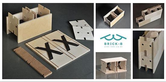 Brick-B Rumah bongkar pasang