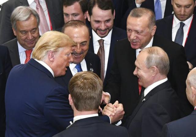 Τραμπ, Πούτιν, Ερντογάν μαζί και η Ε.Ε… χώρια!