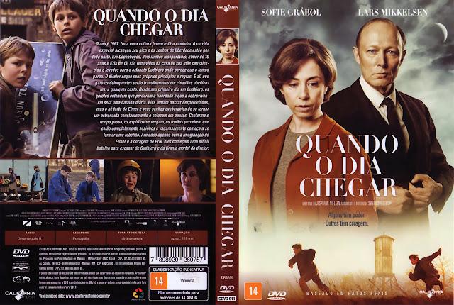 Capa DVD Quando o Dia Chegar (Oficial)