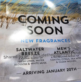 Bath & Body Works | New Signature Body Care Fragrances | Coming January 20th, 2020 | Men's Atlantic and Saltwater Breeze