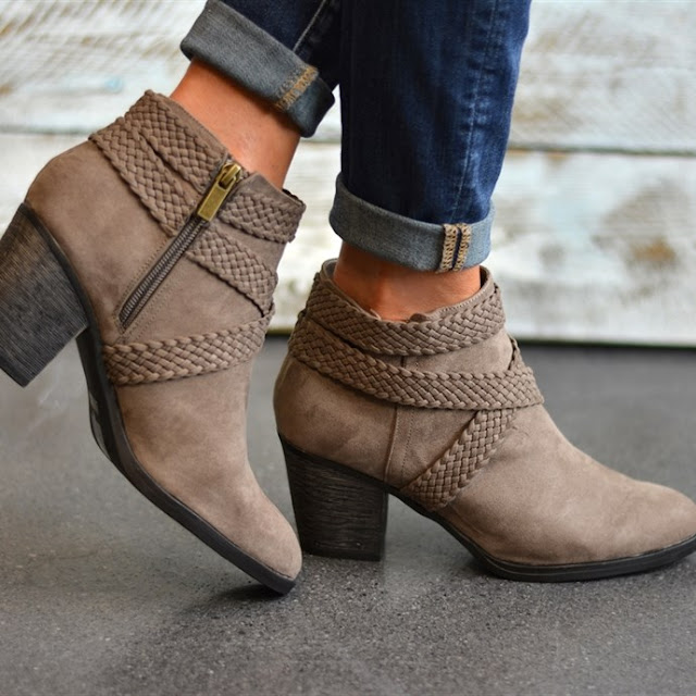 Jane: Crisscross Booties only $25 (reg $80)!