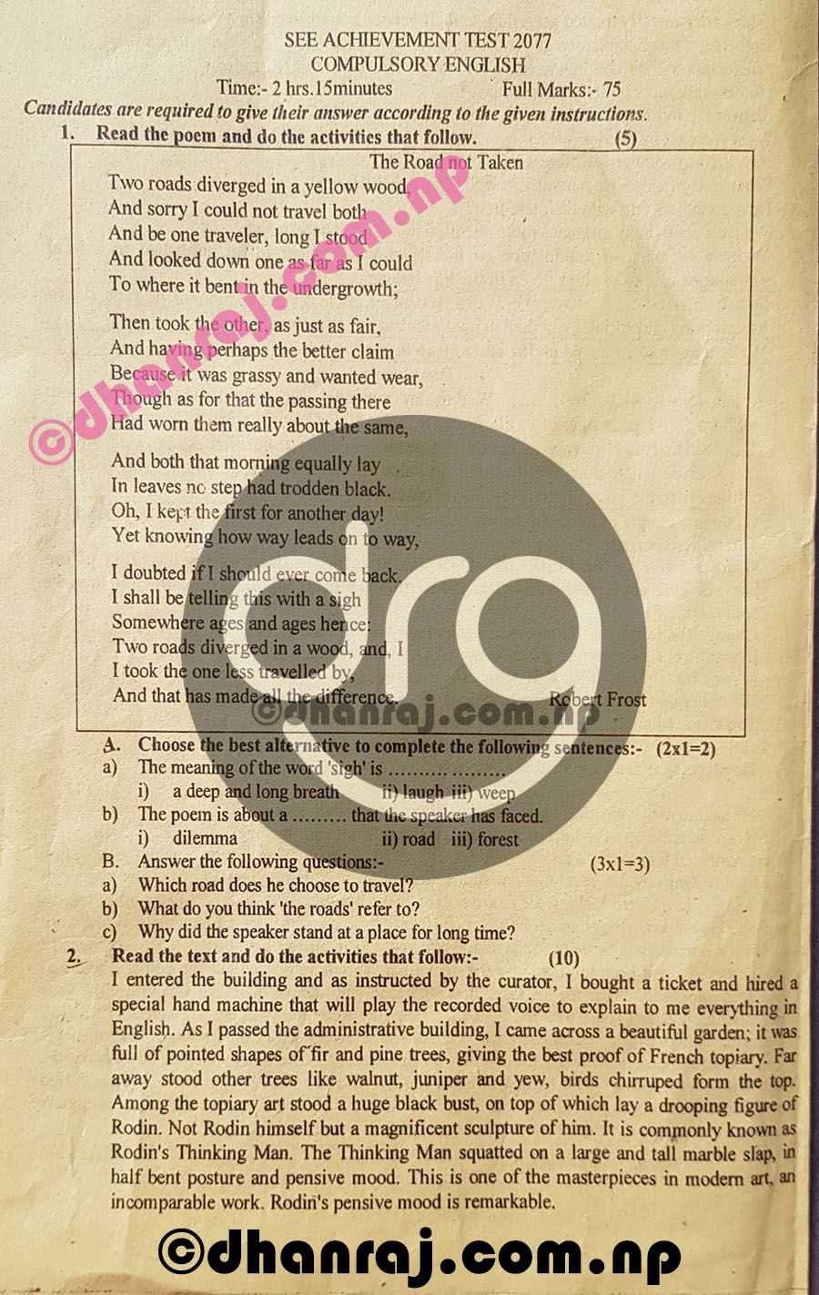 Compulsory-English-Class-10-SEE-Pre-Board-Exam-Question-Paper-2077-PABSON