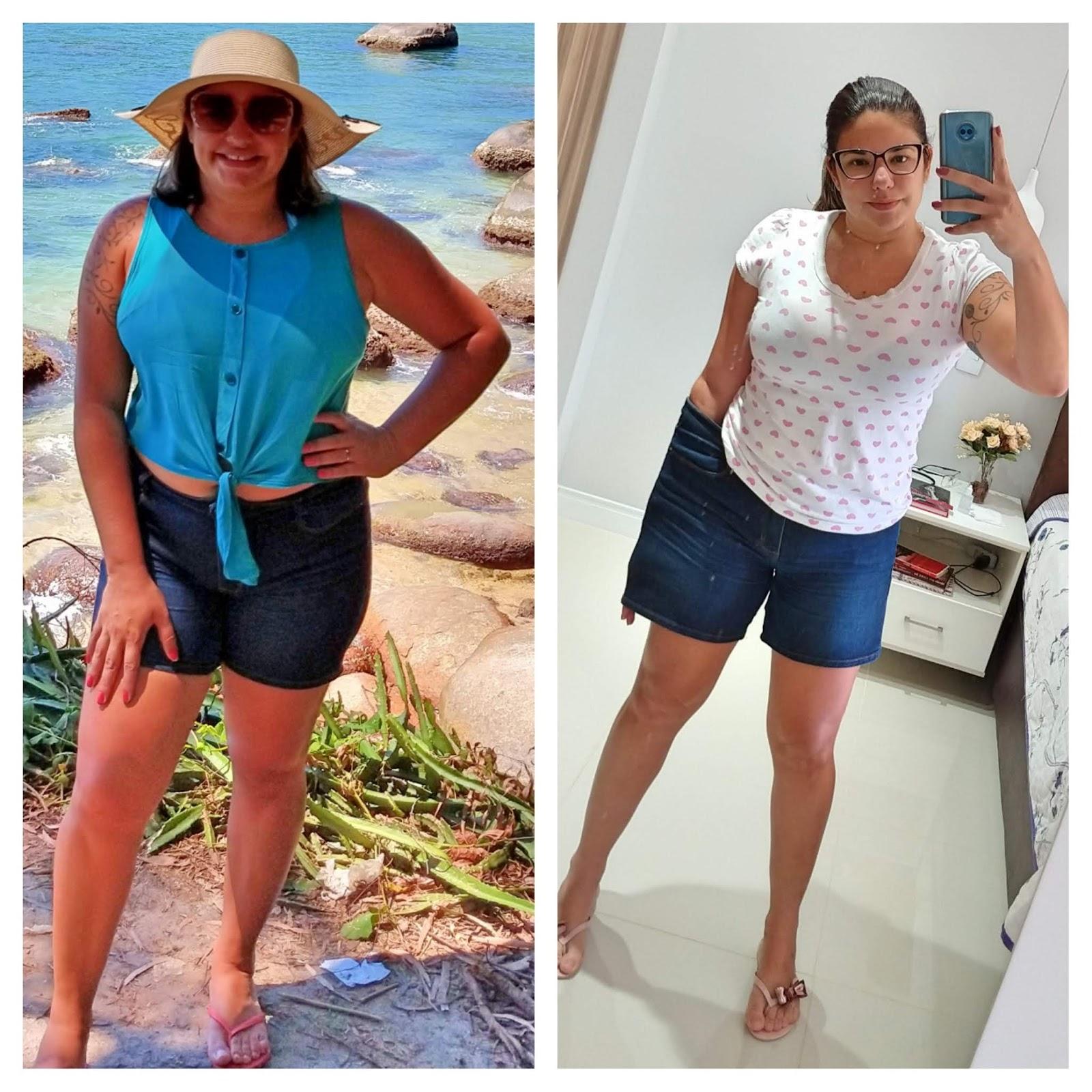 antes e depois emagrecer 13kg
