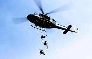 Yonif 112/Raider Gelar Latihan Mobil Udara